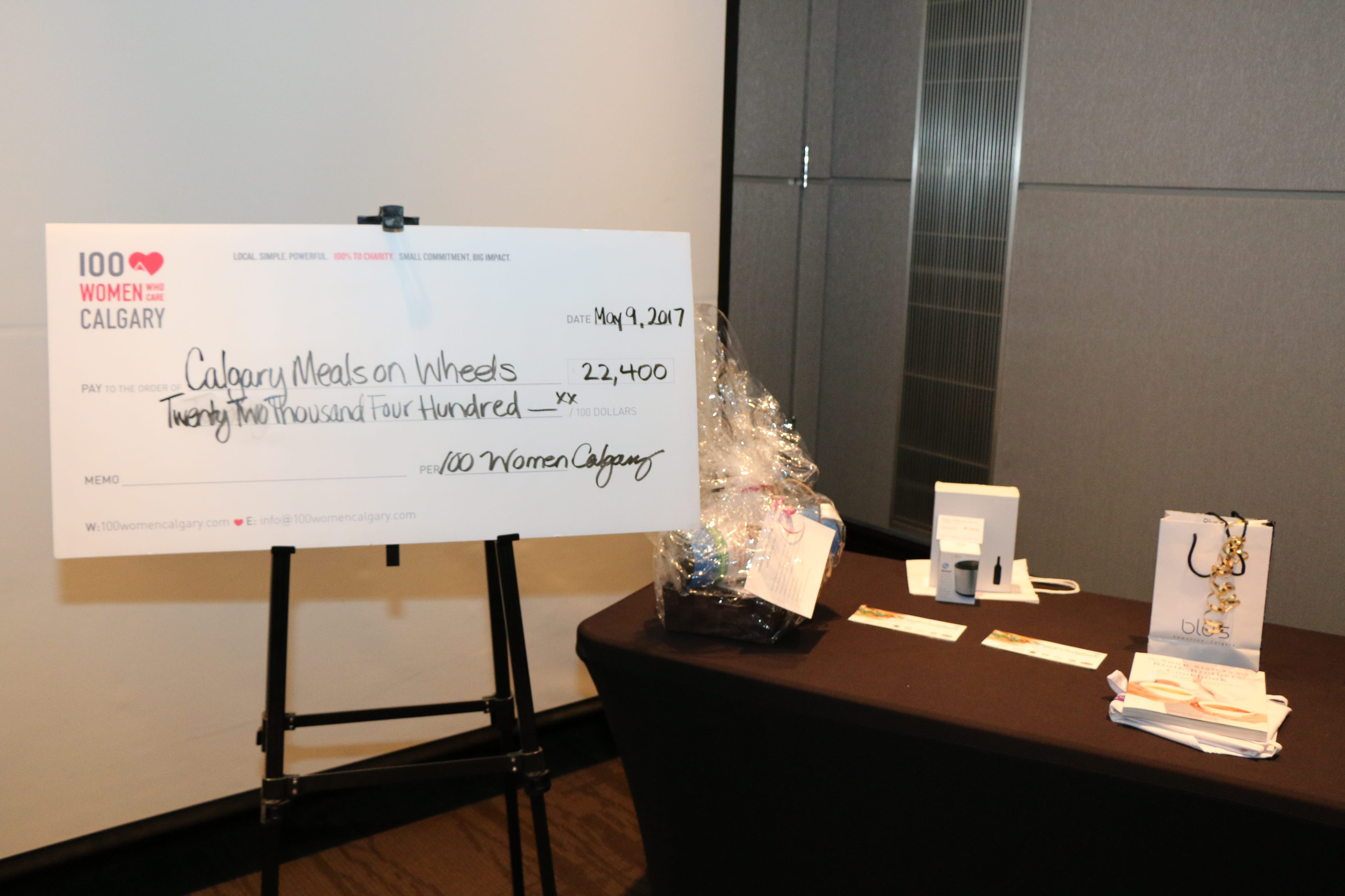 100 Women Who Care Calgary local charitable organization