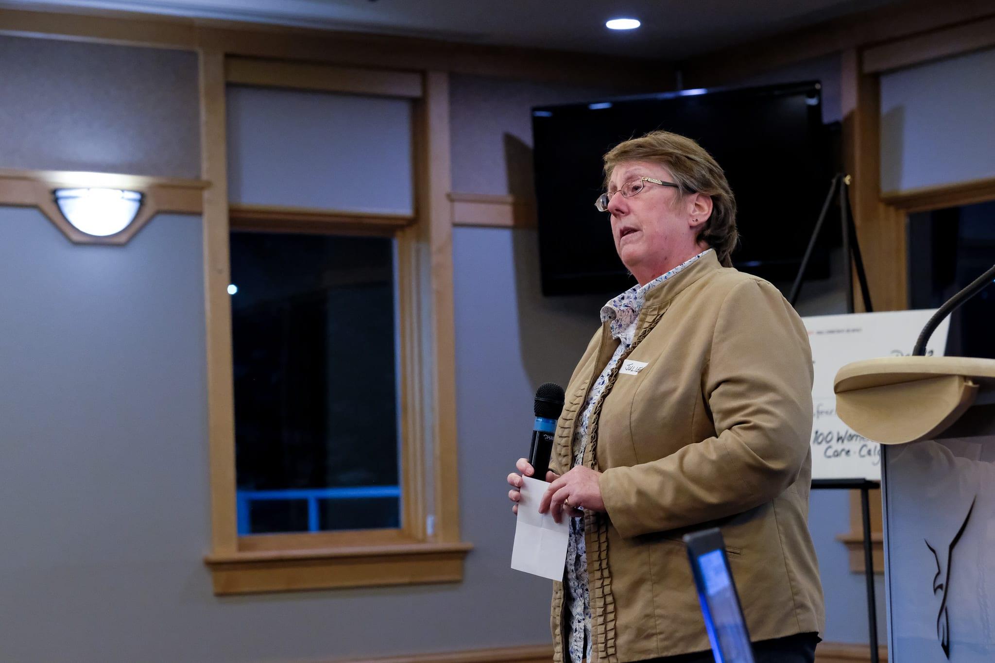 ARBI Volunteer, Julie Cormack
