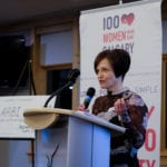 Christine Mack-Granger spoke for Calgary Health Trust - Grief Support Program